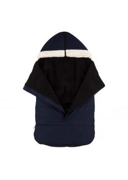 Теплый зимний конверт в коляску Coo Coo Holodryga Blue-Black