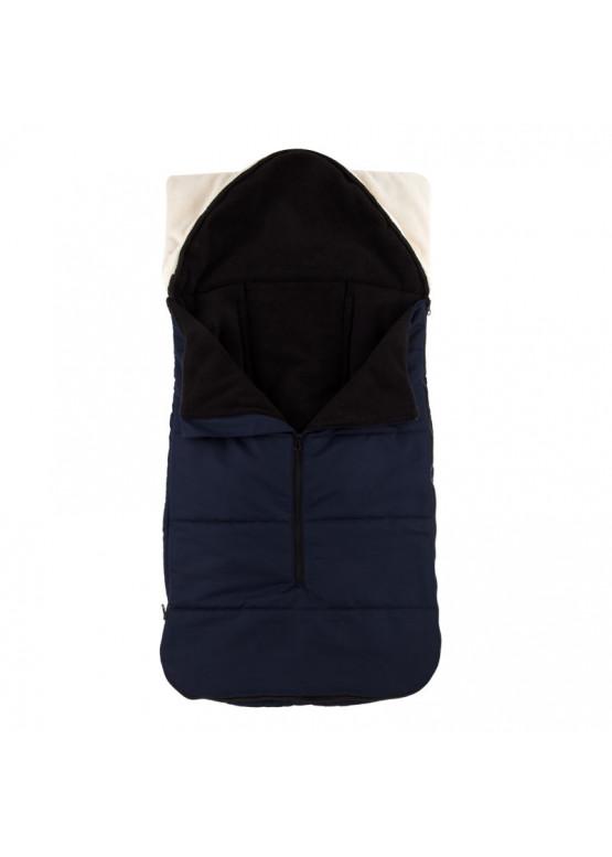 Теплий зимовий конверт в дитячий візок Coo Coo Holodryga Blue-Black