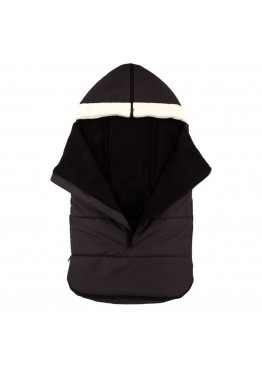 Теплый зимний конверт в коляску Coo Coo Holodryga Graphite-Black