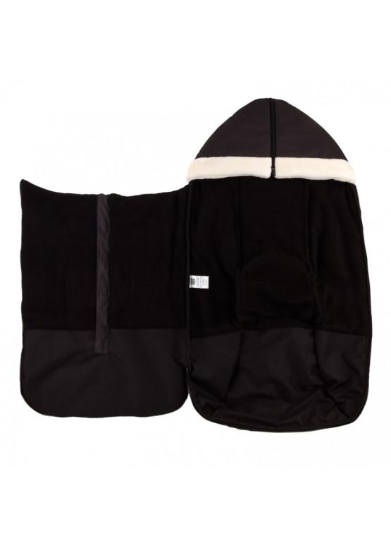 Теплый зимний конверт в коляску Holodryga Graphite-Black
