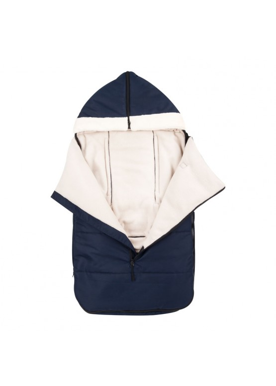 Теплий зимовий конверт в коляску Coo Coo Holodryga Blue-White