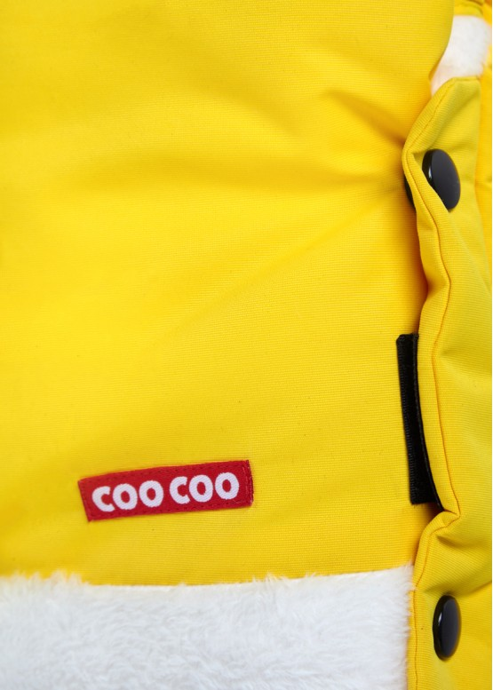 "Муфта на коляску для рук Coo Coo ""Смарт"" Лимонна"