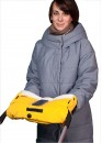 """Муфта на коляску для рук Coo Coo """"Смарт"""" Лимонная"""