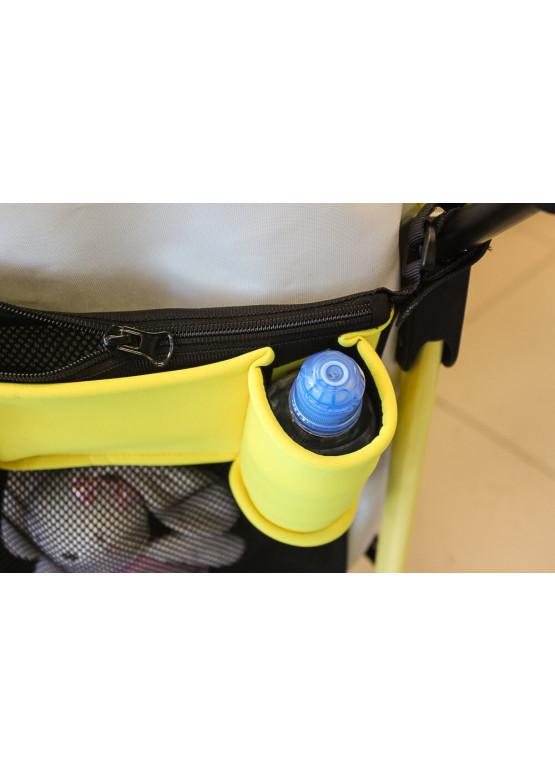 Органайзер для прогулочных колясок Coo Coo желтый