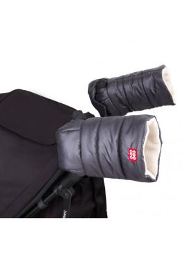 Рукавички-муфта на коляску Coo Coo Graphite (темно-серый)