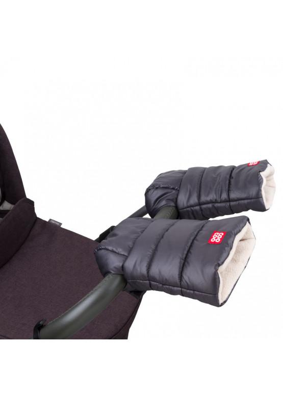 Рукавички-муфта на візок Coo Coo Graphite (темно-сірий)