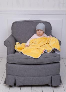 Тепла ковдра Coo Coo 75х100 см лимонна