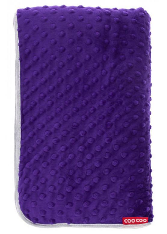 Теплый плед Coo Coo 75х100 см пурпурный